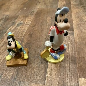 Goofy sports figurines